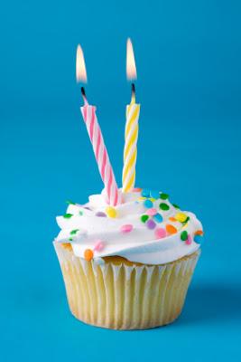 Happy 2nd Birthday to P + P - Popcorn and Pandas