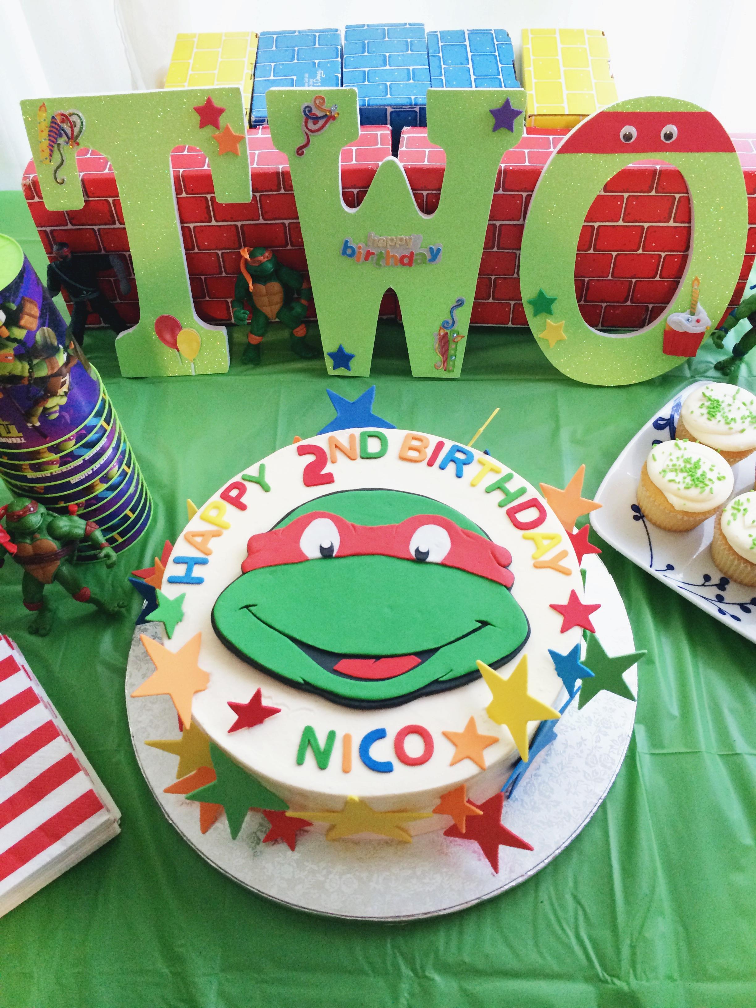 Outstanding Teenage Mutant Ninja Turtle Cake Archives Popcorn And Pandas Personalised Birthday Cards Petedlily Jamesorg
